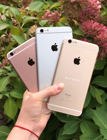 Купить Айфон iPhone 6 6S Plus 16 32 64 128 Space Silver Gold ID:034 GB