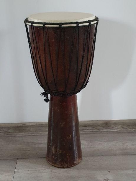 Djembe bęben afrykański średnica 11 cali, wysokość 63 cm
