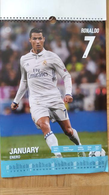 Ronaldo, Ramos - kalendarz Real Madryt 2016, 2017