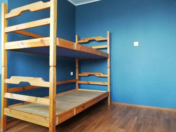 Łóżko piętrowe dwuosobowe