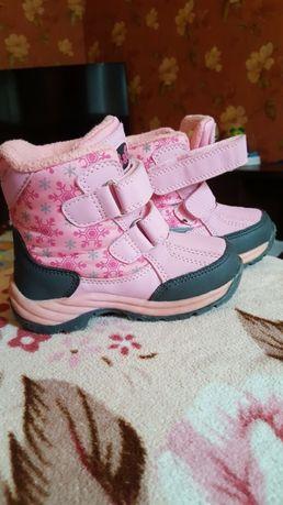 Продам детские зимние сапожки сапоги ботинки зима