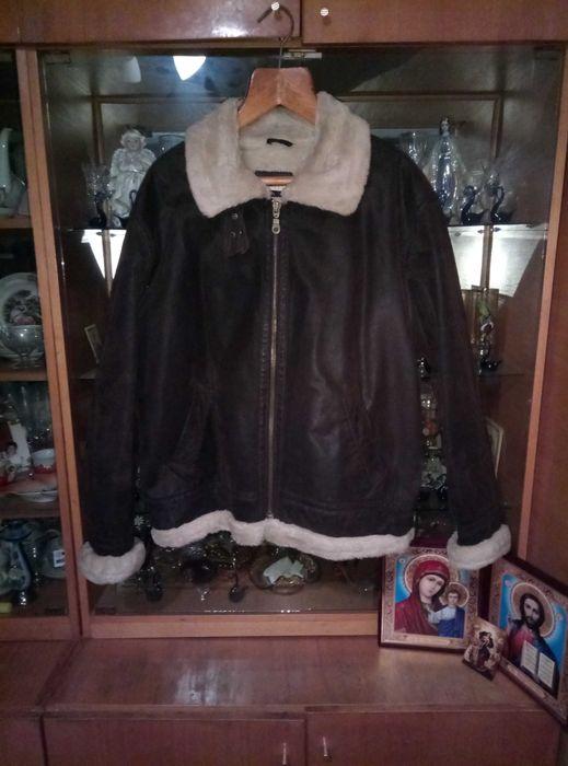 Продам мужскую куртку с кожи выворотки Стрый - изображение 1