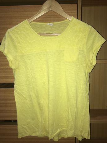 T-shirt menina amarela Zara