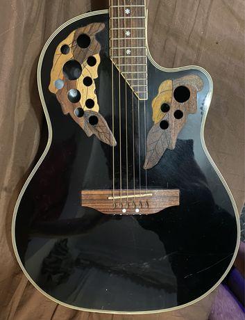 Guitarra roundback eletroacustica tipo ovation