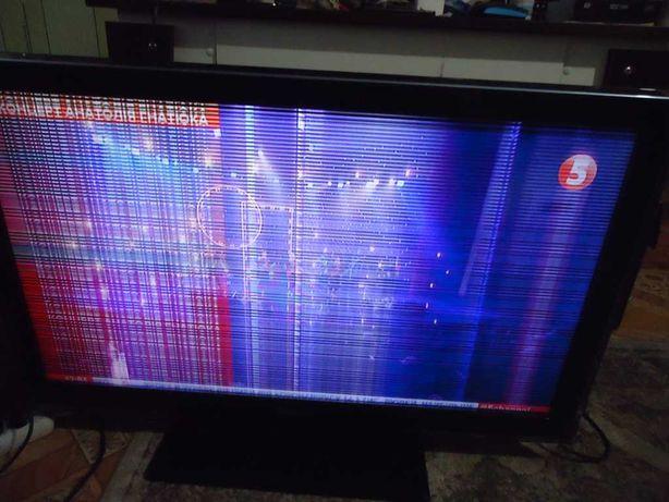 Продам  TV SAMSUNG  LE40D550K1W с неисправностью  за 800 гривен