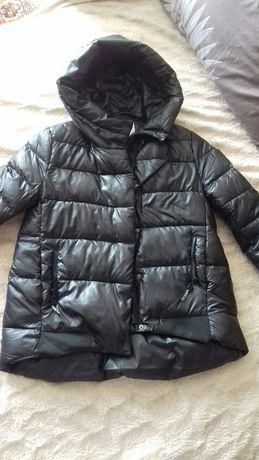 Куртка пуффер оверсайз деми как Zara