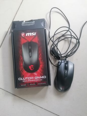Myszka MSI GM40 Black