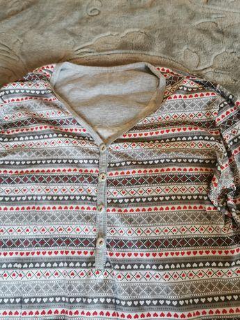 Koszula nocna ciążowa do karmienia