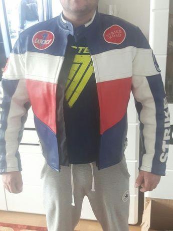 Skórzana kurtka motocyklowa rozmiar M