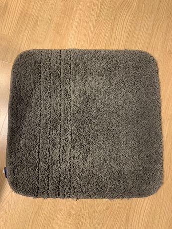 Zestaw 2 dywaników do łazienki szare, dywanik szary łazienka
