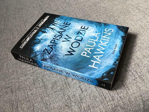 """Książka """"Zapisane w wodzie"""" Paula Hawkins"""
