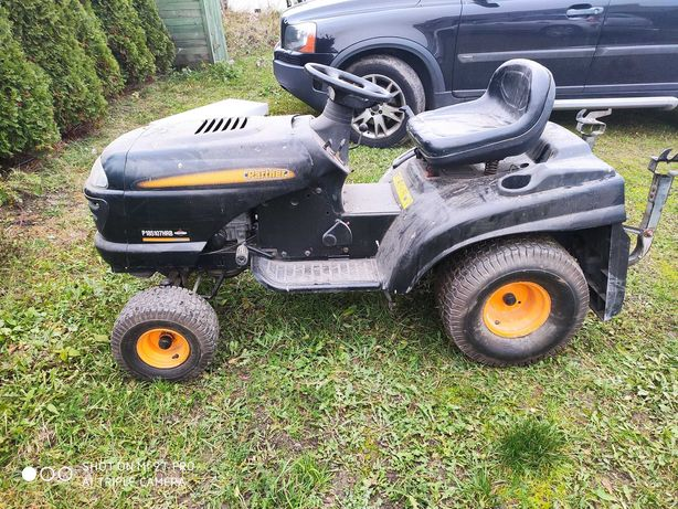 Mocny  traktorek kosiarka Husqvarna  2 cylindry, partner hydro, okazja