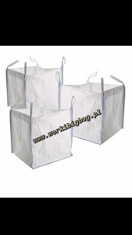 Worki Big Bag Bagi na Węgiel EkoGroszek Trociny Zboze Mocne BIGBAG