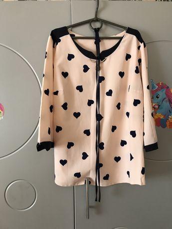 Рубашка в сердечко