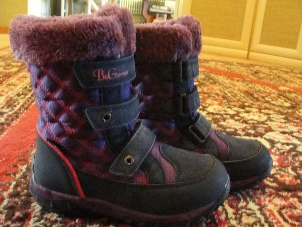 зимние термо-ботиночки 33 размер