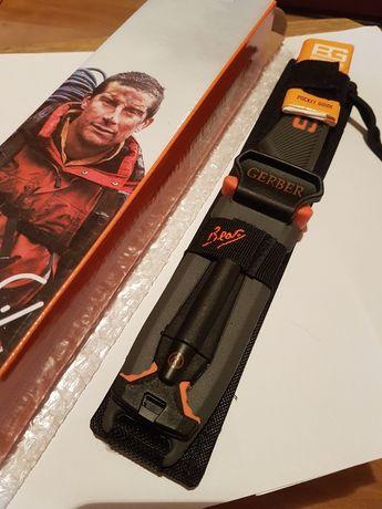 Туристический нож Gerber Bear Grylls в чехле с огнивом и свистком
