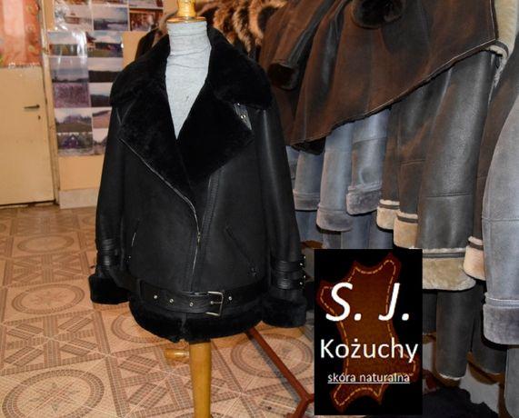Kożuch damski naturalny Ramoneska oversize - PRODUCENT!!!