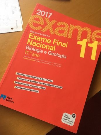 Livro biologia geologia - exames