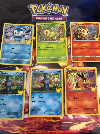 Cartas Pokémon McDonalds Holo