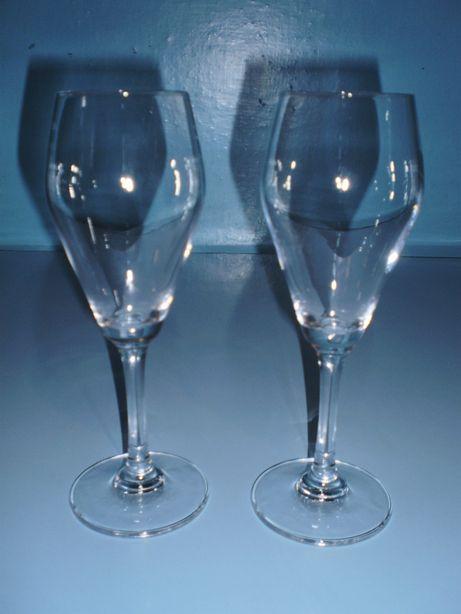стеклянные бокалы/фужеры для вина, пара