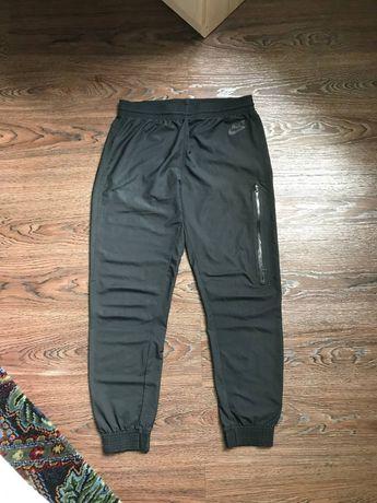 Спортивки штаны nike tech fleece dri-fit nylon pants off-white ellesse