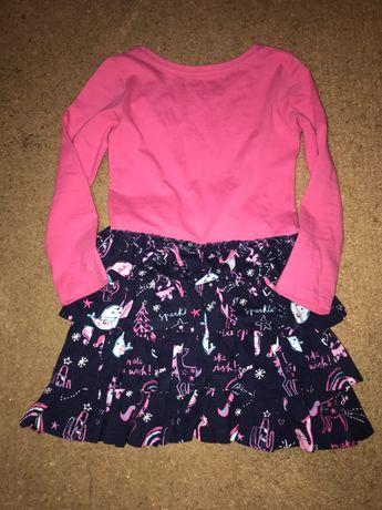 Новые детские платья единороги