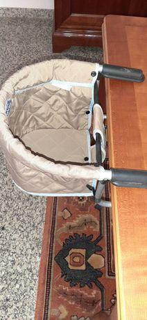 Cadeira refeição portátil para bebé