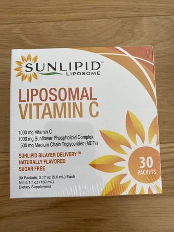 Lipisomalna witamina C sunlip 1000 mg sunflower 30 szt saszetek
