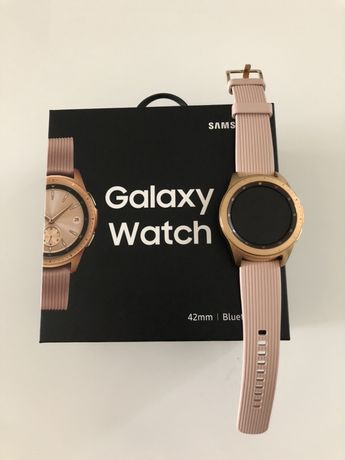Zegarek Samsung galaxy watch 42mm golden rose