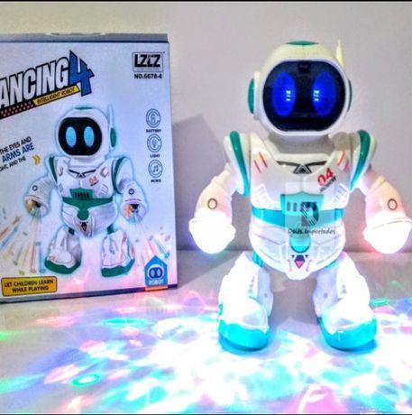 Танцующий светящийся робот Dancing robot 6678-4