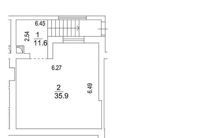Продам фасадное помещение 48м2  ЖК Львовский Маеток, дом сдан, заселен
