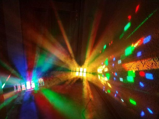 Derby Дискотечные Световые приборы Дерби Много-ЛУЧЕВЫЕ LED RGBW