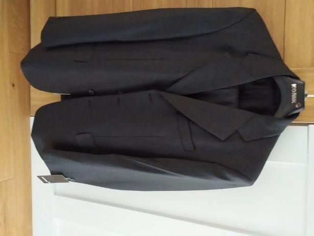 Sprzedam nowy garnitur ekskluzywnej firmy Konik