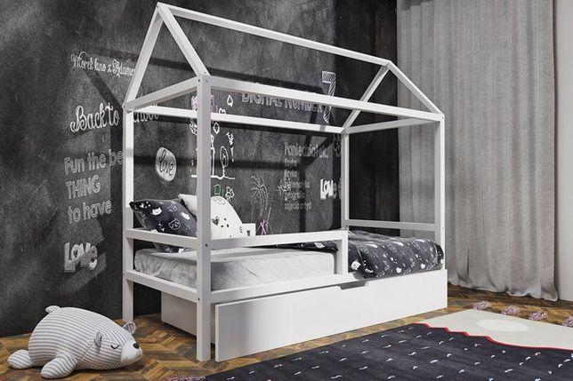 Nowe drewniane łóżko Paula z szuflada! Okazja! Materac gratis