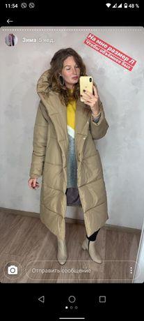 Зимнее пальто.Новое с бирками.Размер М-Л