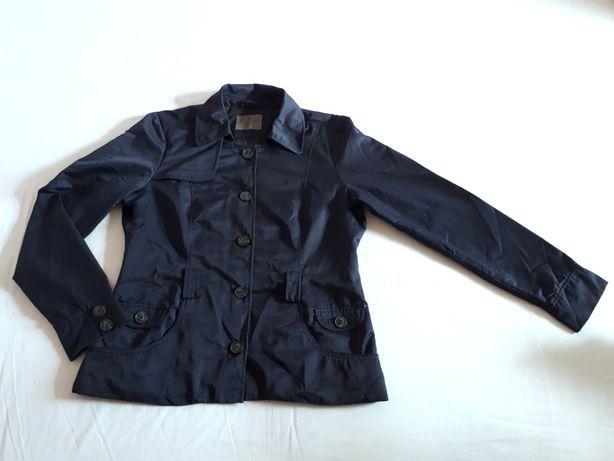 Vero Moda Jeans granatowy płaszcz, kurtka żakiet jesienny wiosenny