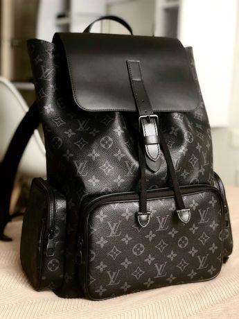 Рюкзак Louis Vuitton! Кожа!