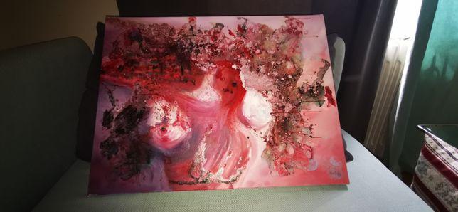 Quadro pintado a óleo