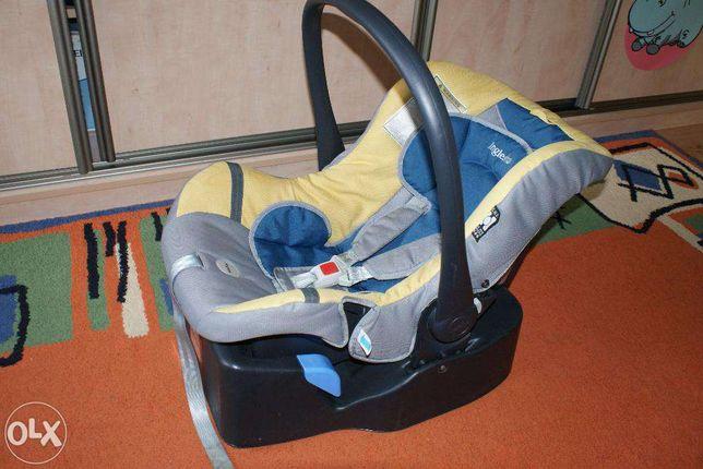 Inglesina terenowy wózek fotelik samochodowy + nosidełko bujak Huggy