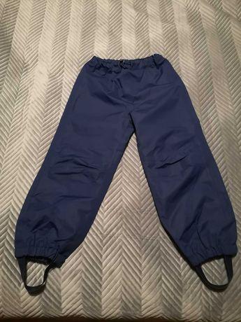 Spodnie dziecięce wierzchnie przeciwdeszczowe rozmiar 116