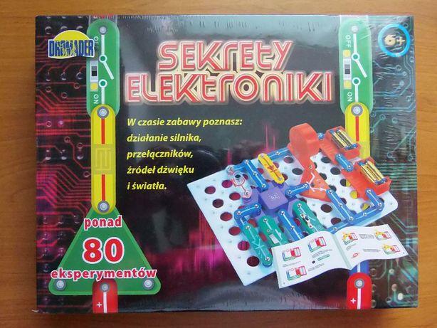 SEKRETY ELEKTRONIKI 80 eksperymentów firmy Dromader