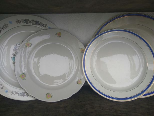 Блюдо, тарелка, СССР, фарфор, посуда