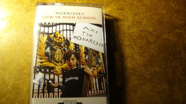 Morrissey cassete Low in High School