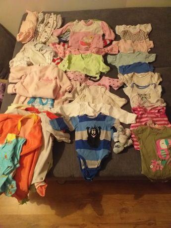 Paka ubrań dla niemowląt  r 62/68
