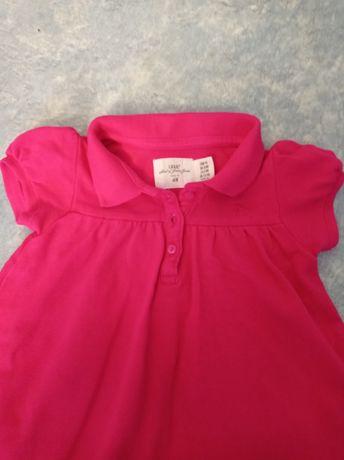 Бодик-платье на 6-9 мес.