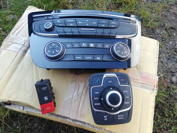 Peugeot 508 panel radia, Joystik komplet, do nawigacja, że Tanio