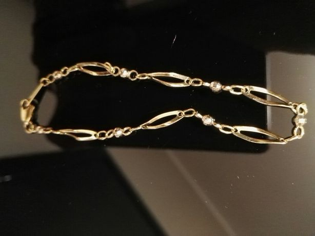 Bransoletka złota proba 333 dlugosc 19 cm