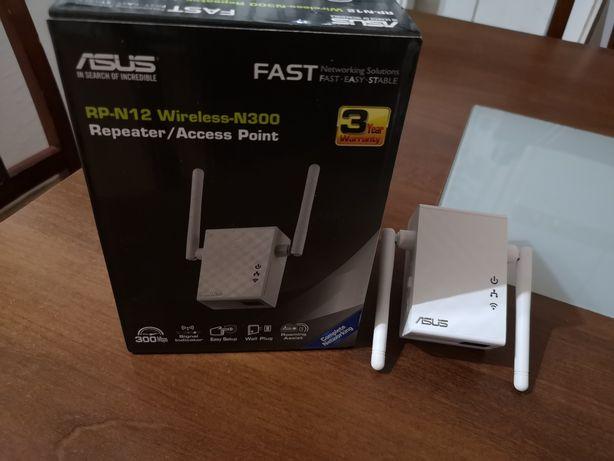 Sprzedam wzmacniacz WiFi, repeater Asus  RP-N12