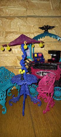 Monster High Scaris Монстер хай кафе Скариж City of Frights Cafe Cart