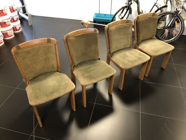 Stare , porządne krzesła dębowe